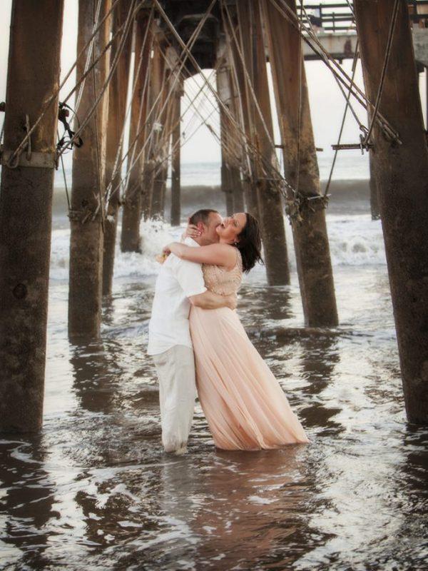 sesion novios pareja boda hilton puntarenas costa rica atardecer