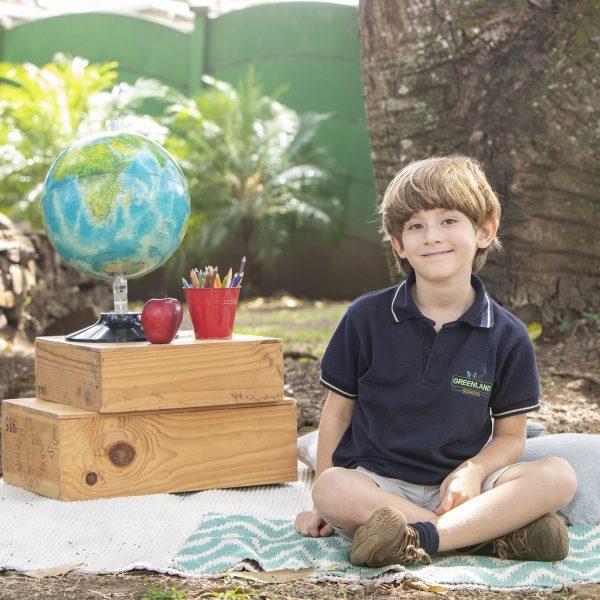foto niño estudiante kinder greenland montessori
