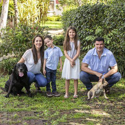sesion familiar perros aire libre