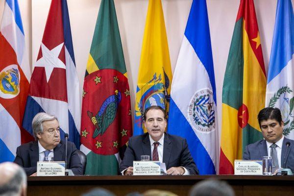 fotografia eventos cosporativos corte interamericana de derechos humanos costa rica banderas