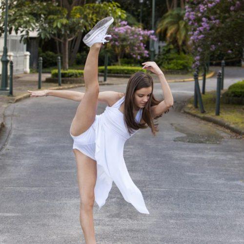 foto baile colegio escolar estudiante san jose parque españa sesion baile