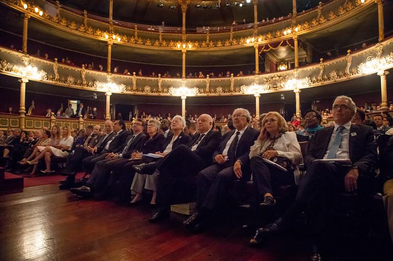 40 aniversario de la Corte Interamericana de Derechos Humanos, Teatro Nacional, San Jose, Costa Rica