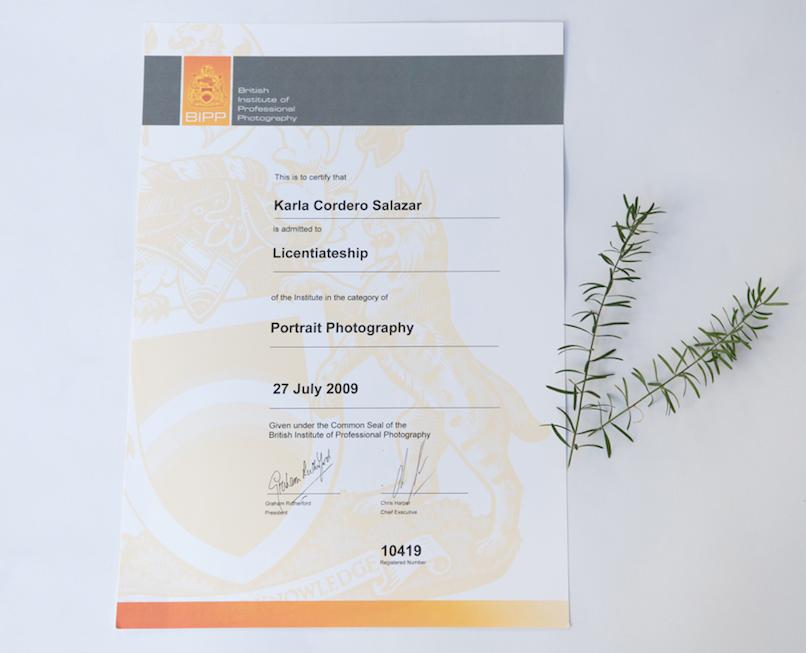 Licencias fotográficas BIPP Certification