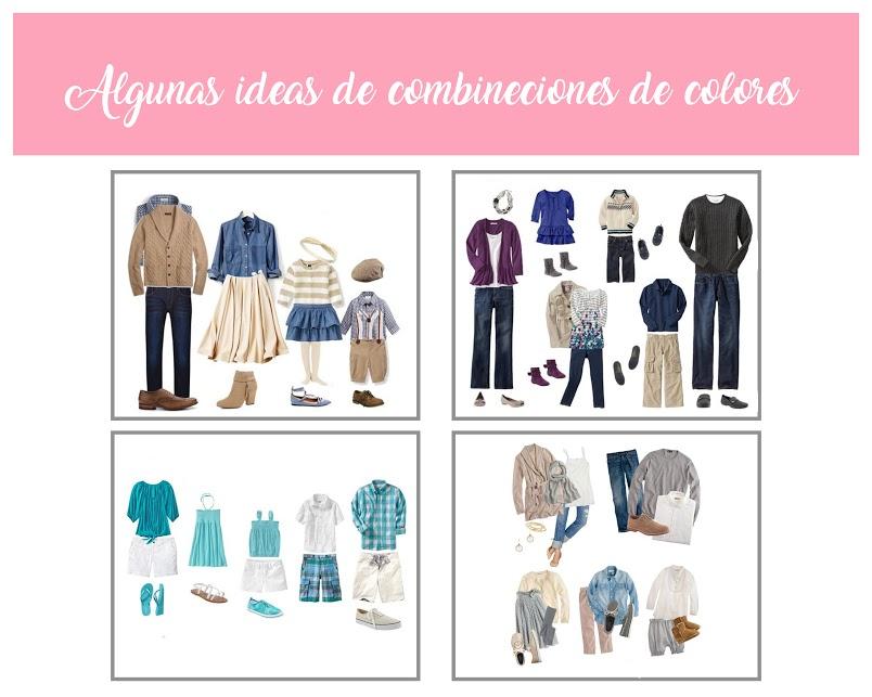 Afiche de fotografía profesional con ejemplos de cómo vestirse