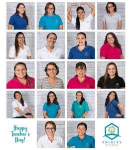 company staff collage