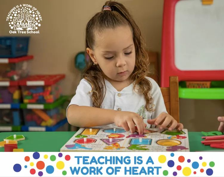 teaching quote with child