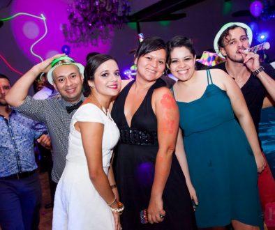 3 women friends in group photo