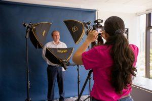 Studio shoot photography