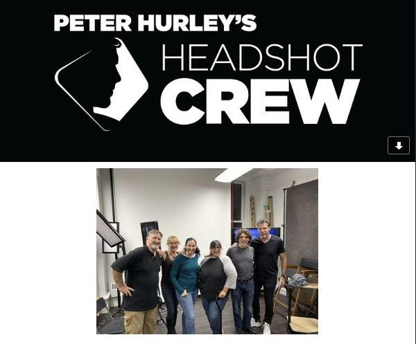 Headshot crew group photo