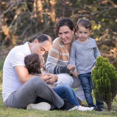 sesion familiar parque españa niñas familia