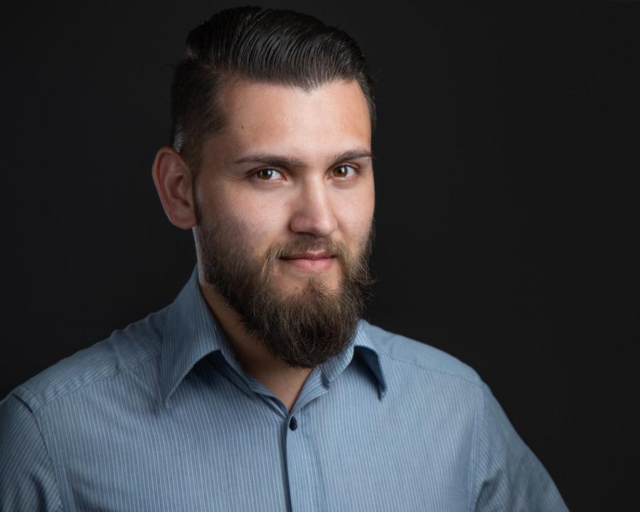Headshot retrato corporativo hombre