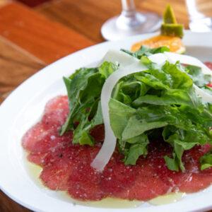 Foto de comida, carpaccio, Karla Cordero Photography