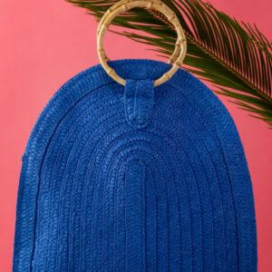 Cartera azul, Fotografia de producto, Karla Cordero Photography